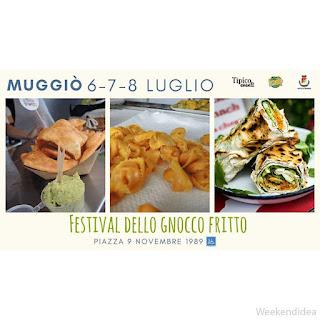 Festival de il Gnocco Fritto 6-7-8 luglio Muggiò (MB)