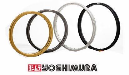 Brosur Lengkap Daftar Harga Velg Yoshimura Racing jari-jari Ring 17, Ring 14 Terbaru 2014