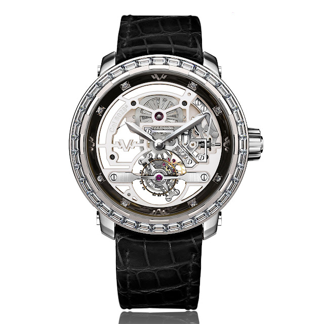 Dewitt onlywatch Twenty-8-Eight High Jewellery Skeleton Tourbillon
