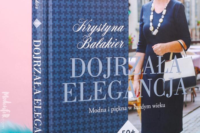 Krystyna Bałakier, Dojrzała Elegancja, Helion, książka, poradnik, moda 50 plus, ilustracje, Marta Anna Jollant, recenzja książki Krystyny Bałakier Dojrzała Elegancja, Septem
