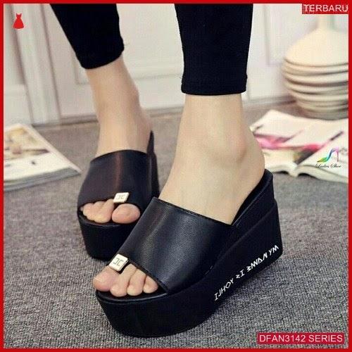 DFAN3142S123 Sepatu Ss41 Wedges 12cm Wanita Wedges Murah BMGShop