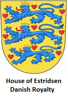 House of Estridsen Coat of Arms