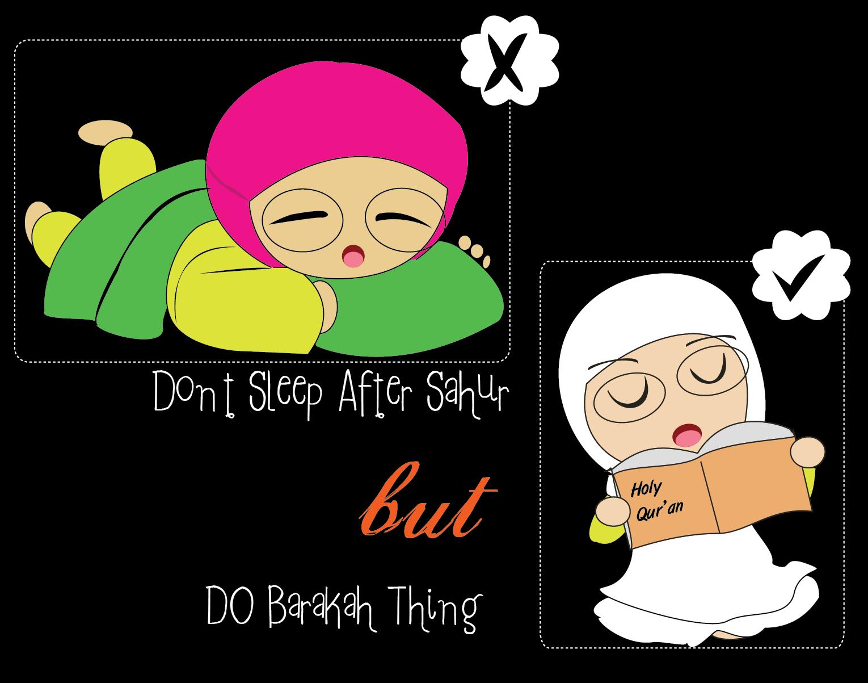 Animasi Ramadhan Lucu