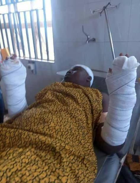 husband stabs lady evangelist asaba delta state