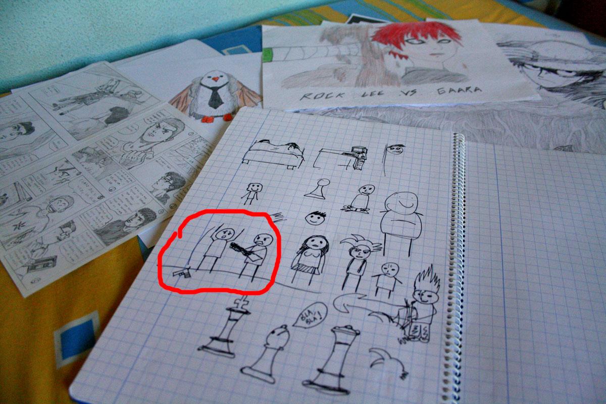 Dibujos En Libretas Ii: El Despiporre: Dibujos De Infancia