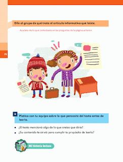 Respuestas Apoyo Primaria Español 2do grado Bloque 2 lección 9 Los tepehuas