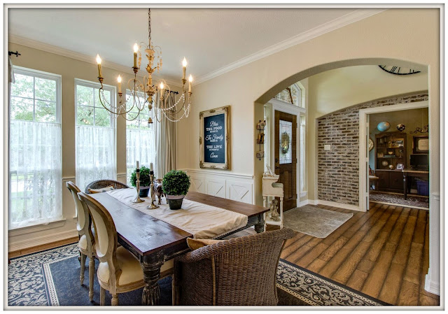 French Country Farmhouse Transformation-After