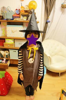 ハロウィン手作り衣装