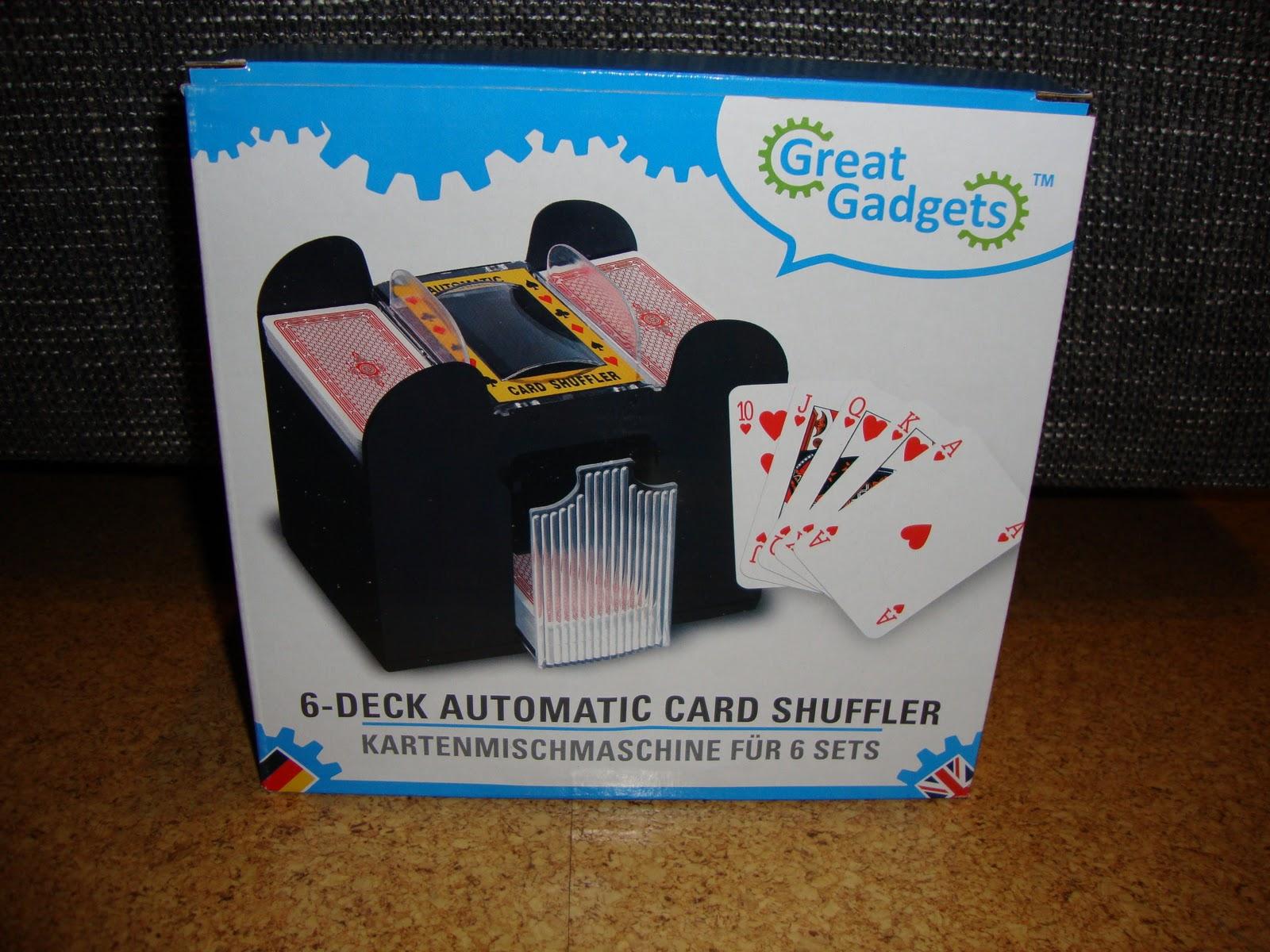 Gute Kartenmischmaschine