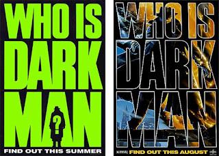 Promoción película Quién es Darkman