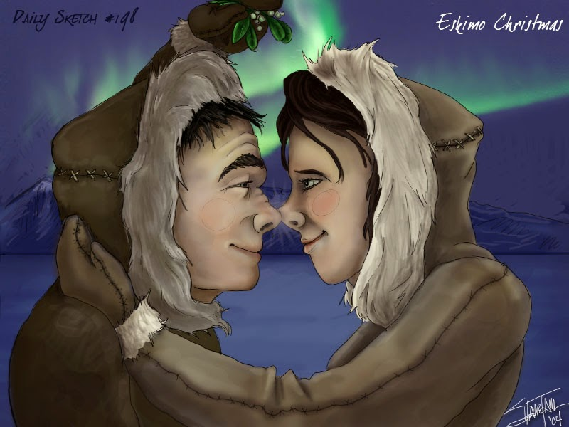 картинка как здороваются эскимосы знаете