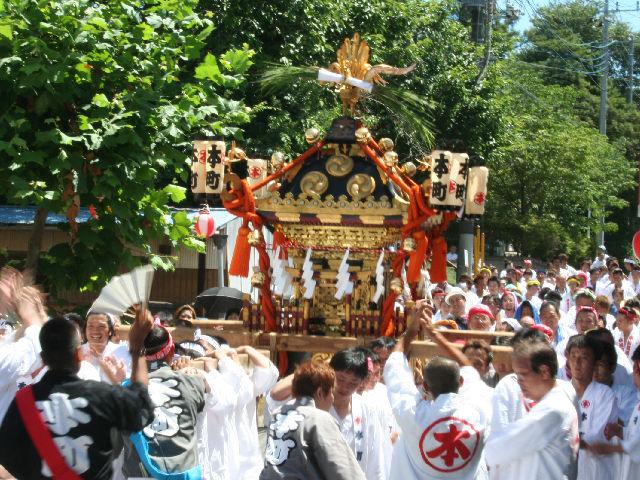 Mitsukaido Gion Matsuri (summer festival), Jousou City, Ibaraki Pref.