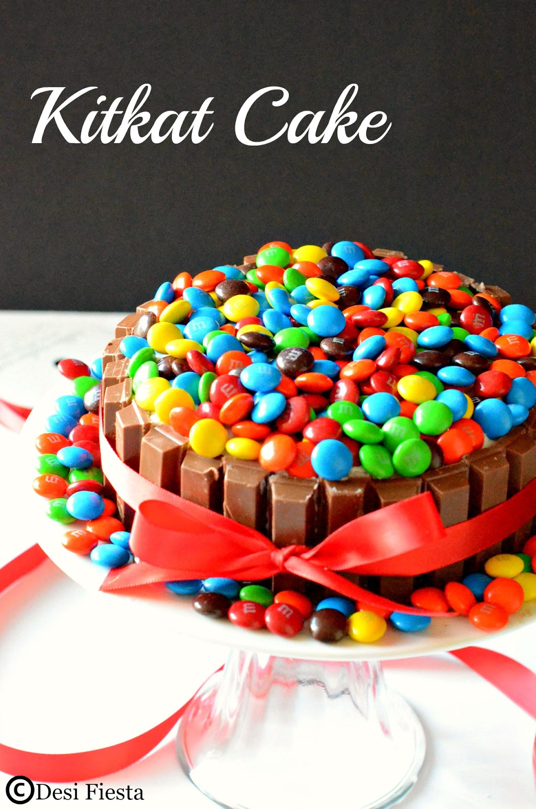 Kit Kat Cake Recipe Eggless