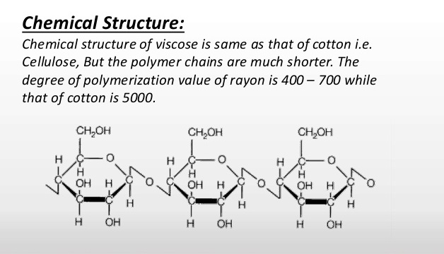What are the properties of viscose?
