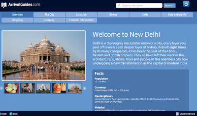 Arrival Guides to Go Travel Guide App Review Intel New Delhi