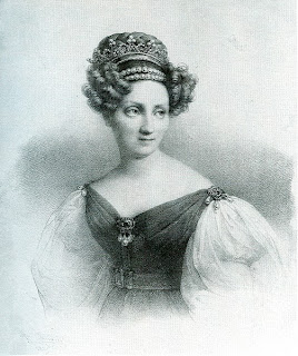 Drawing of Stéphanie de Beauharnais