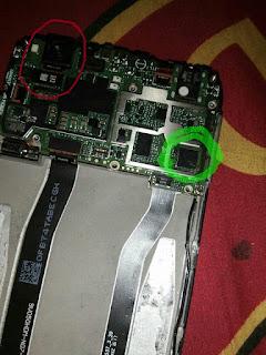 ganti modul kamera belakang redmi 4x