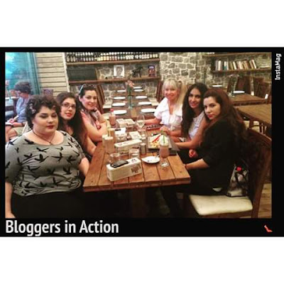Bloggers In action