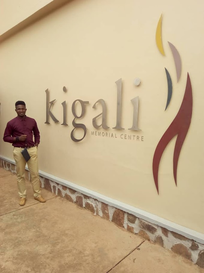 Alex shares his experience at the Rwanda Genocide memorial Center
