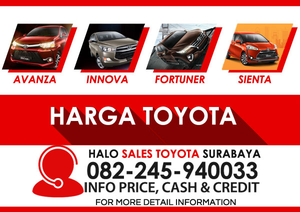 price list harga mobil toyota surabaya