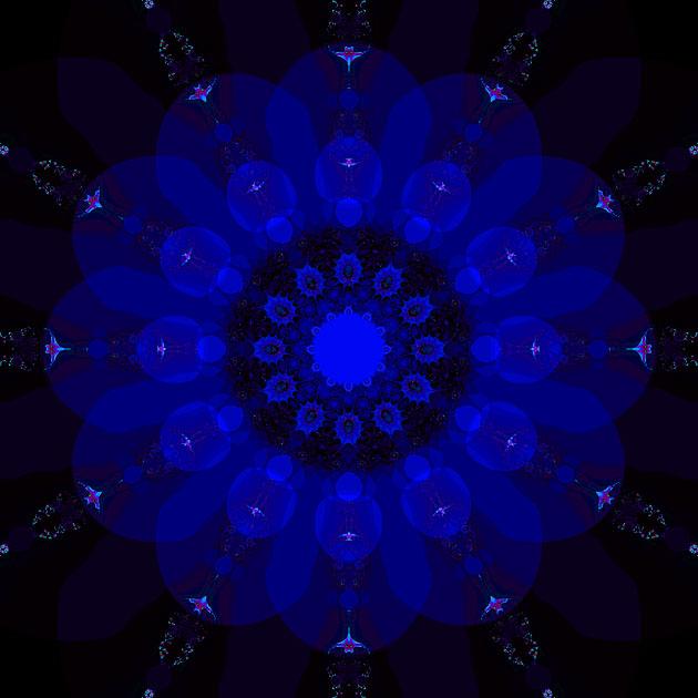 Mandala Madness Third Eye Chakra Mandalas