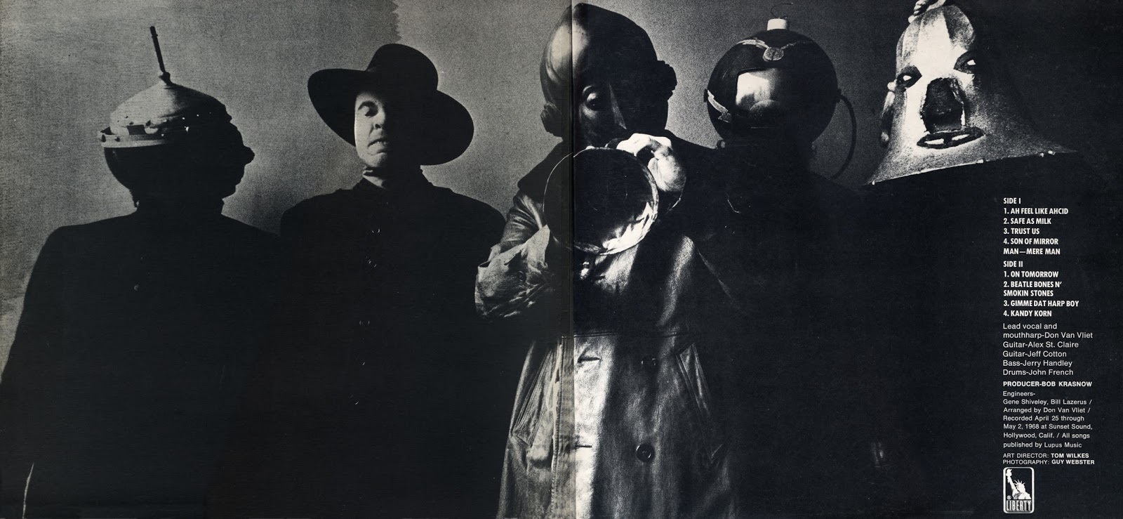Captain Beefheart And His Magic Band - Ice Cream For Crow
