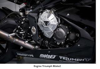 Triumph Sudah Mulai Test Mesin untuk Balap Moto2
