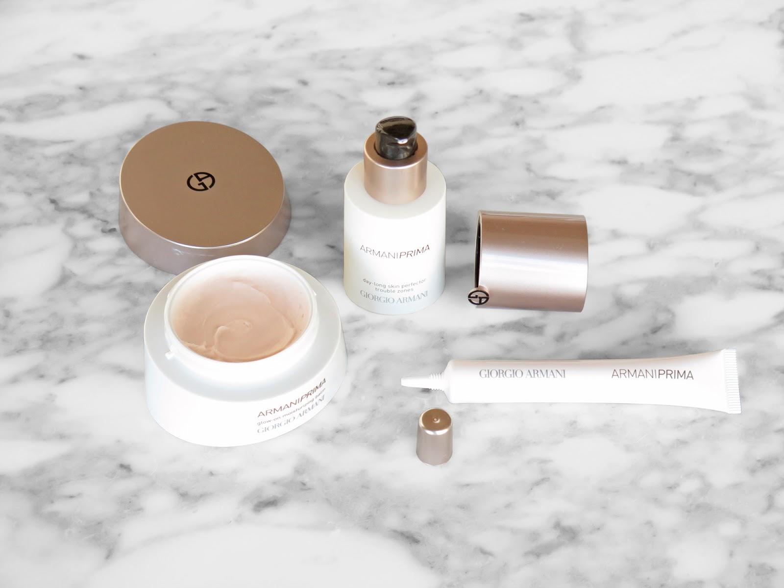 Armani Prima Skincare Review