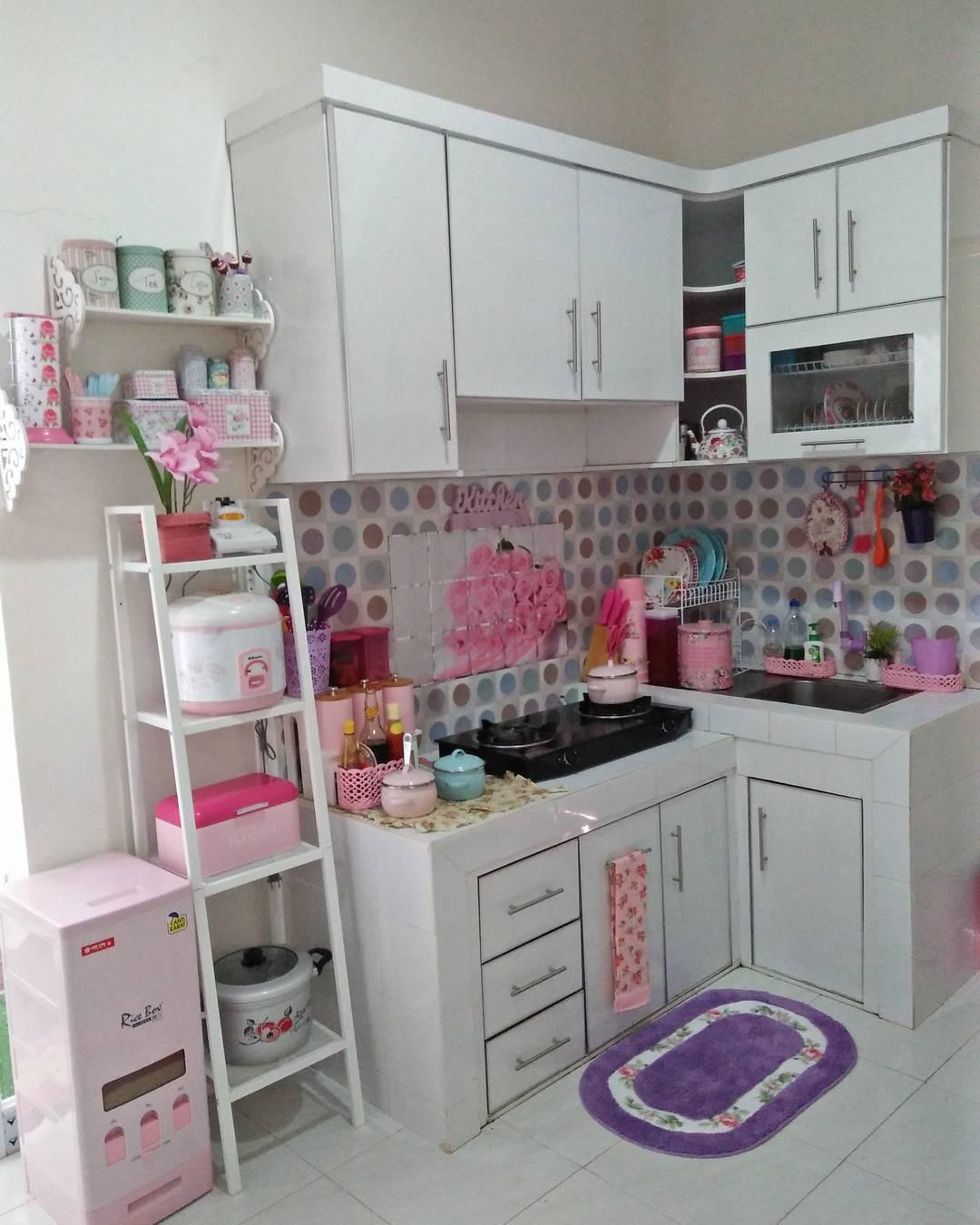 Ukuran Ideal Sebuah Dapur Rumah Shabby Chic Minimalis Hello