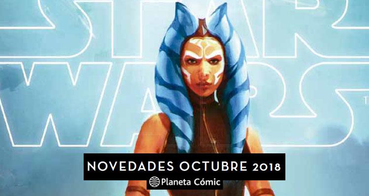 Planeta Cómic: Novedades para Octubre de 2018