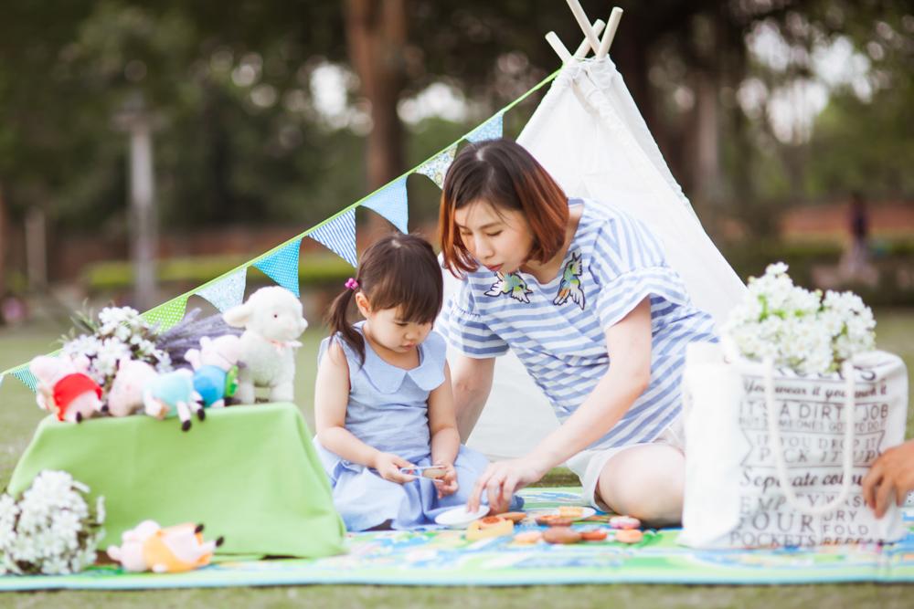 台北戶外兒童攝影寶貝攝影寫真推薦全家福