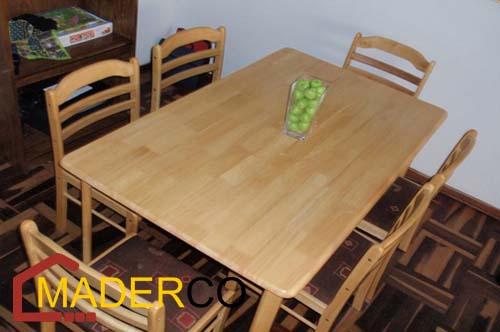 sillas de madera para sala ~ MADERCO PERU