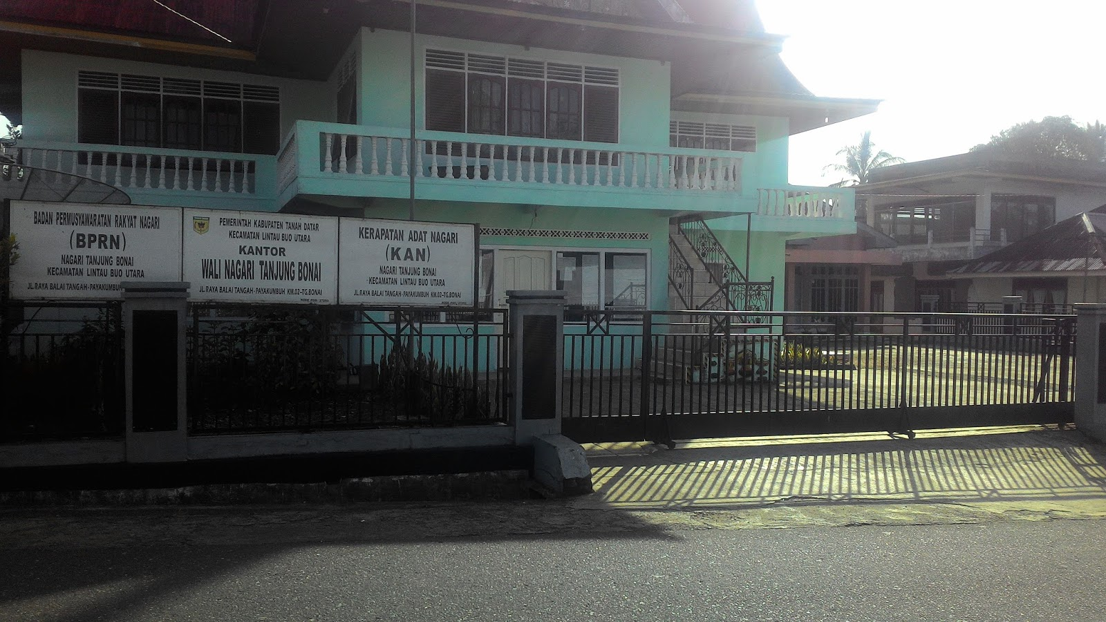 Warga Keluhkan Kantor Walinagari Tanjung Bonai Sering Telat Buka Walinagari Juga Ikut Telat Minang Terkini