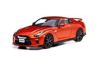 [KYOSHO 1/43] NISSAN GT-R (R35) Ultimate Shiny Orange KWAM002172