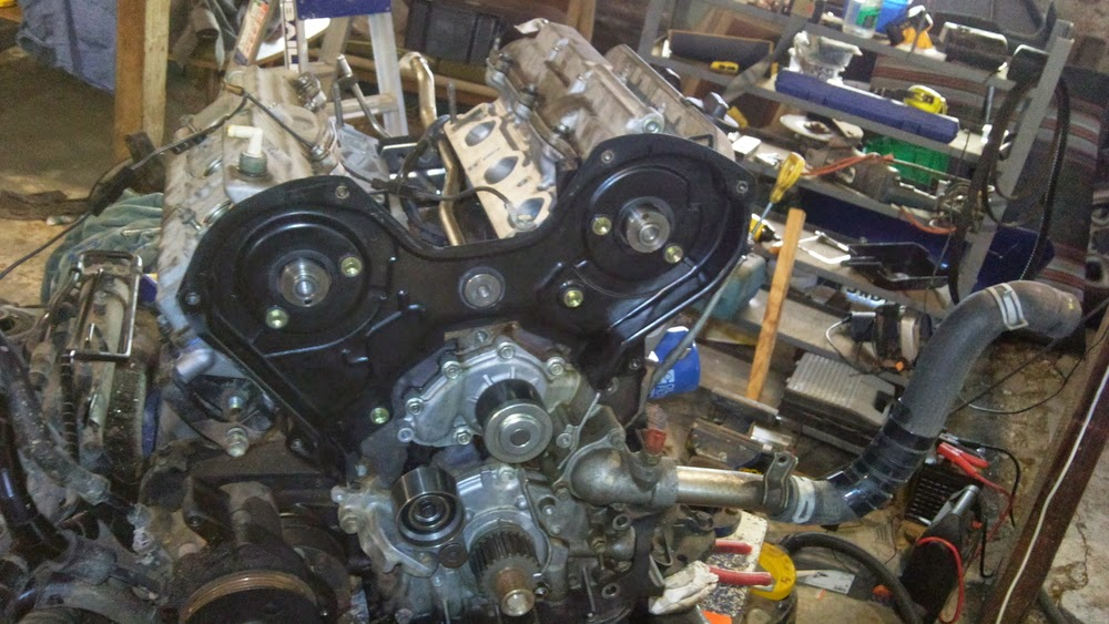 Rav4 3VZ V6 Conversion: 3VZ-FE Top End Rebuild