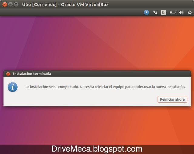DriveMeca instalando Linux Ubuntu Zesty Zapus paso a paso