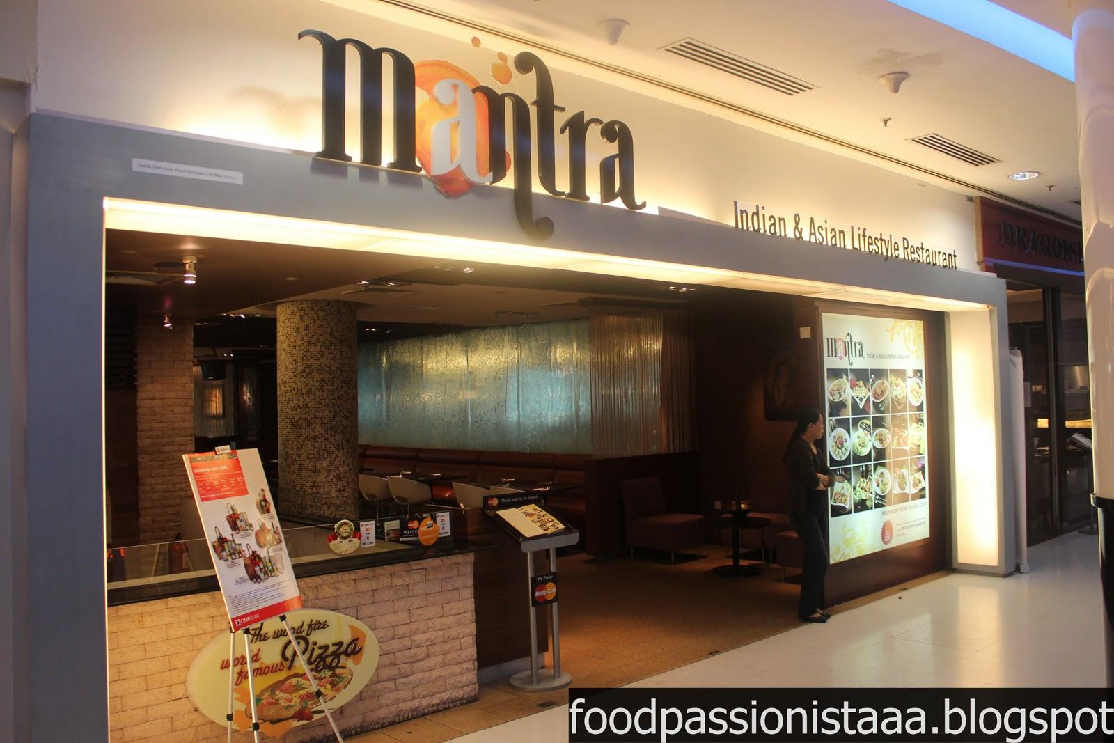 Mr Mrs Foodpacker Mantra Restaurant And Bar Sunway Pyramid