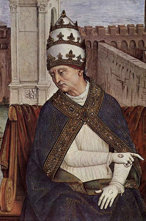 Pio II. Catedral de Siena. Bernardino di Betto, 'Pinturicchio' (1454–1513)