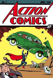 superman action comics vintage poster wallpaper screensaver image picture