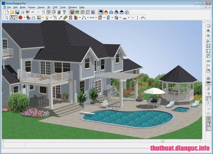 Download Home Designer Professional 2019 v20.3.0.54 Full Cr@ck – CAD cho ngôi nhà chuyên nghiệp