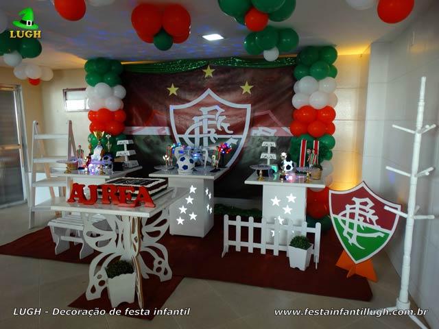 Decoração de festa Fluminense - Aniversário infantil