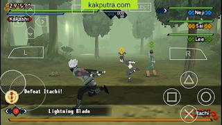 [OFFLINE] Naruto Shippuden Kizuna Drive ISO PPSSPP di Android