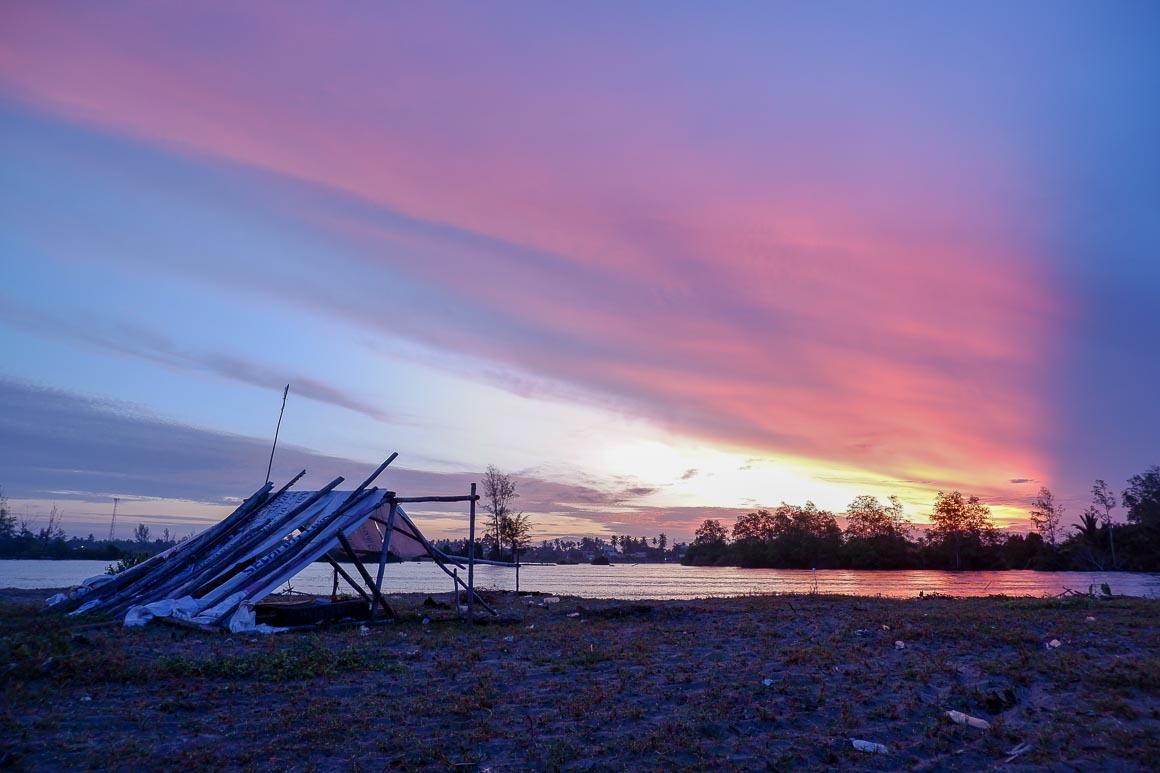 Matahari terbit dari Aceh Barat