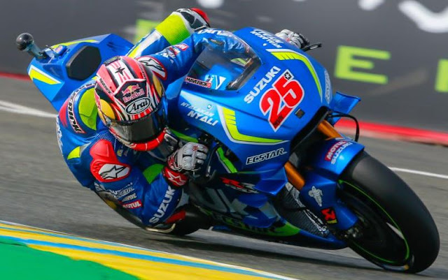 Maverick Vinales won first motogp podium