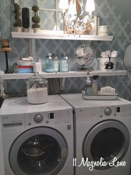 decoração de lavanderias