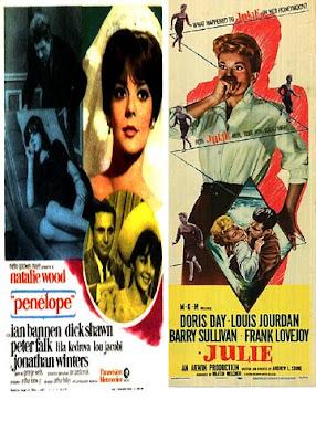 Classic Film & TV on DVD: Doris Day is Julie (1956) & Natalie Wood is Penelope (1966)