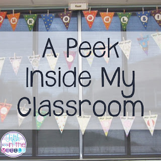 A peek inside my 5th grade classroom and freebies