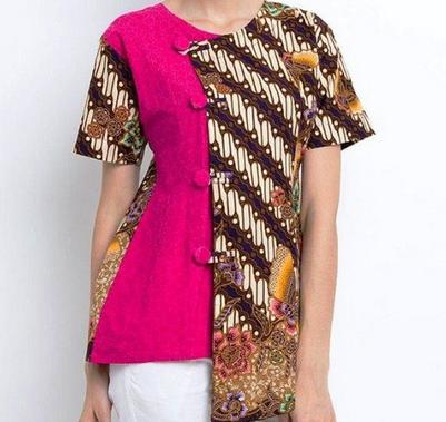 model baju batik embos terbaru 2019