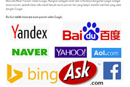 Kumpulan Mesin Pencari Selain Google Yang Perlu Kamu Ketahui