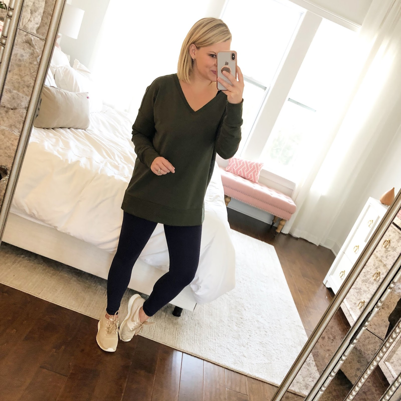 They have the perfect high waist and they suck you so well while still  feeling super comfortable. Leggings run big and I am usually a size 4 in  Lululemon 9256412c9db9
